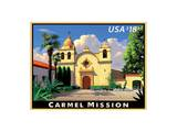 Carmel Mission Art by  USPS