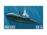 Ohio Class Art by  USPS