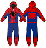 Spiderman - Onesie Jumpsuit T-Shirt