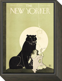 The New Yorker Cover - March 28, 1925 Framed Print Mount by Ray Rohn