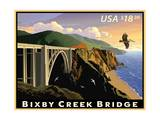 Bixby Creek Bridge Prints by  USPS