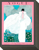 Vogue Cover - May 1925 Framed Print Mount by Georges Lepape