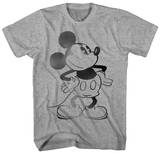 Mickey Mouse - Stencil Mickey T-shirts