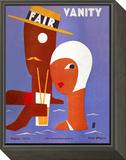 Vanity Fair Cover - August 1929 Framed Print Mount by Eduardo Garcia Benito