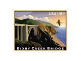 Bixby Creek Bridge Prints by  USPS
