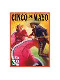 Cinco De Mayo Posters by  USPS