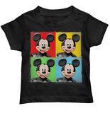 Toddler: Mickey Mouse - Four Up T-shirts