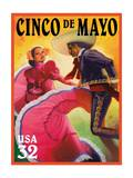 Cinco De Mayo Prints by  USPS