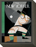 The New Yorker Cover - May 8, 1926 Framed Print Mount by Victor Bobritsky