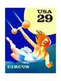 Trapeze Artist Posters by  USPS