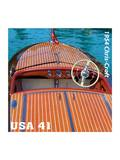 Chris Craft Poster by  USPS