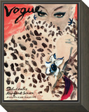 "Vogue Cover - November 1939 Framed Print Mount by Carl ""Eric"" Erickson"