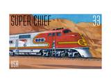 Super Chief Prints by  USPS