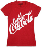 Juniors: Coca-Cola - Oooh Simple T-shirts