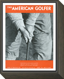 The American Golfer March 1931 Framed Print Mount