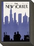 The New Yorker Cover - March 21, 1925 Framed Print Mount by Carl Fornaro