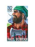 Paul Bunyan Prints by  USPS
