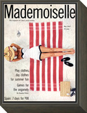 Mademoiselle Cover - May 1953 Framed Print Mount by Unknown Somoroff
