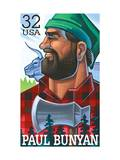 Paul Bunyan Poster by  USPS