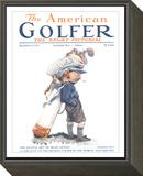 The American Golfer December 2, 1922 Framed Print Mount by James Montgomery Flagg