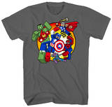 The Avengers - Digi Battle T-shirts