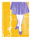 Peggy Olson's Party Dress Serigraph by  Print Mafia