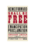 Emancipation Proclamation Prints by  USPS