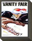 Vanity Fair Cover - September 1935 Framed Print Mount by Unknown Charlot