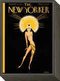 The New Yorker Cover - September 19, 1925 Framed Print Mount by Max Ree