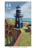 Fort Jefferson Poster by  USPS