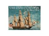 US Constitution 1812 Prints by  USPS