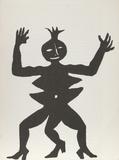 Derrier le Miroir (Acrobat in Heels) Reproductions de collection par Alexander Calder