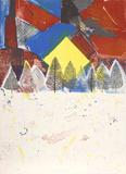 Tramonto invernale Edizione limitata di Arthur Secunda