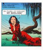 Alex Raymond - Flash, My Darling Sběratelské reprodukce