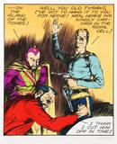 Alex Raymond - Flash Gordon, Old Tyrant Sběratelské reprodukce