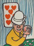 Seven of Hearts Reproductions de collection par Alexander Calder