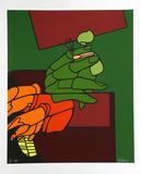 Händer Begränsad utgåva av Valerio Adami