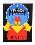 Robert Indiana - The Wall (from the American Dream Portfolio) - Serigrafi