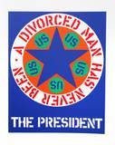 Robert Indiana - The President (from the American Dream Portfolio) - Serigrafi