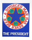 The President (from the American Dream Portfolio) Serigraph by Robert Indiana