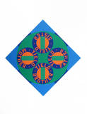 Robert Indiana - Yield Brother #2 (from the American Dream Portfolio) - Serigrafi