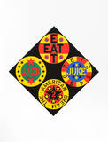 Black Diamond (from the American Dream Portfolio) Serigraph by Robert Indiana