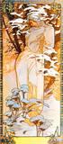 Winter II Lámina giclée premium por Alphonse Mucha