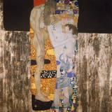 Las tres edades de la vida Lámina giclée premium por Gustav Klimt