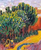 Landschaft Aus Caranteque Premium Giclee Print by Alexej Von Jawlensky