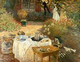 Le Déjeuner Giclée-Premiumdruck von Claude Monet