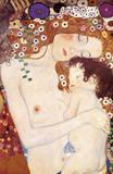 Die dreiLebensalter Giclée-Premiumdruck von Gustav Klimt