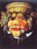 Portrait of a Man Premium Giclee Print by Giuseppe Arcimboldo