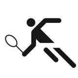 Tennis Premium Giclee Print by Otl Aicher