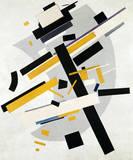 Suprematismus Gicléetryck på högkvalitetspapper av Kasimir Malevich